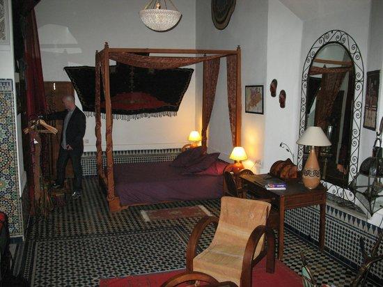 Riad Al Bartal:                   Sleeping end of upper floor suite