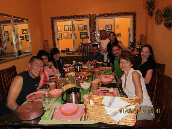 "Cascadas de Merida:                   ""Fabulous breakfasts and people!"""