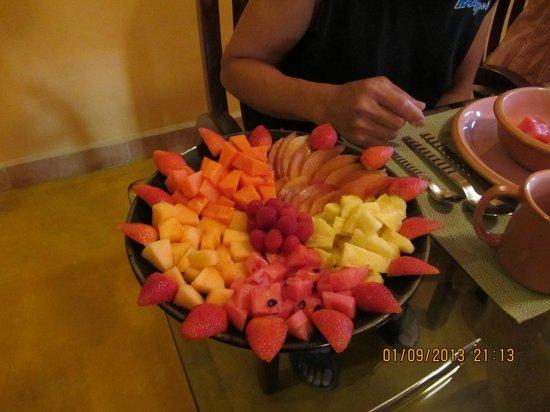 """Cascadas de Merida:                   """"Wonderful food!"""""""