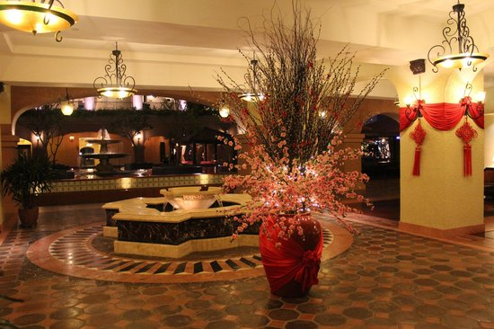 Hotel lobby with Chinese New Year Decor - Picture of Casa ...