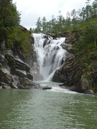 Blancaneaux Lodge:                   Big Rock Falls