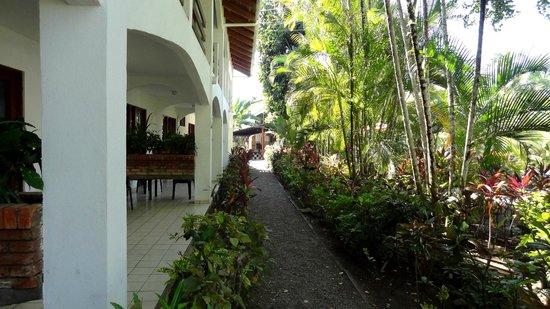 Hotel Pochote Grande: Vor dem Zimmer im Erdgeschoss