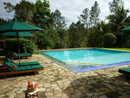 Blancaneaux Lodge:                   Pool