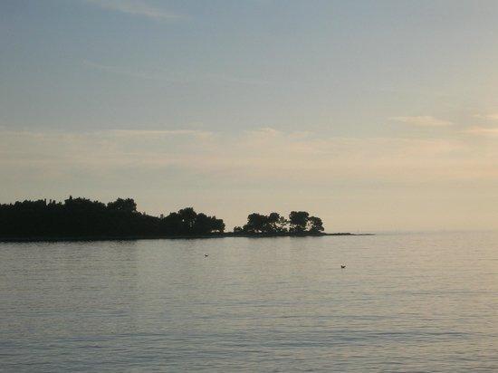 Villa Koka:                   View from the beach
