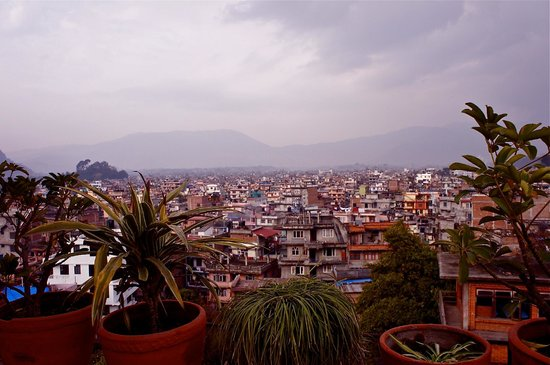Hotel Encounter Nepal:                   View from Terrace
