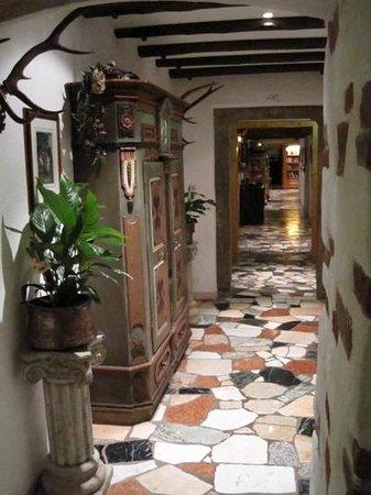 Romantik Hotel Spielmann:                   1e verdiep
