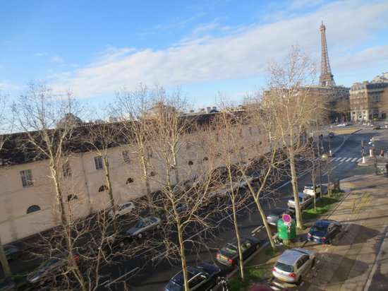 Derby Eiffel Hotel:                   View from our hotel room