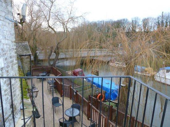 The Grove Pantry Pub & Inn:                                     View from balconary