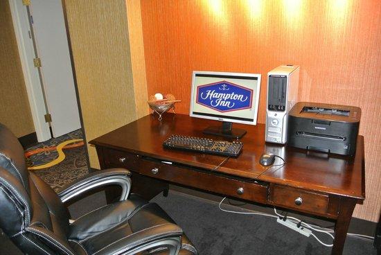 Hampton Inn Birmingham/Bessemer: Business Center