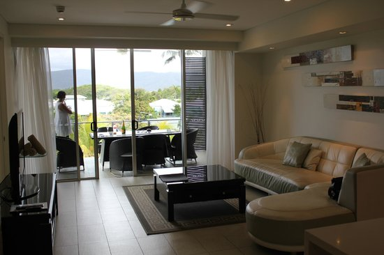 Coconut Grove Apartments:                   Living room