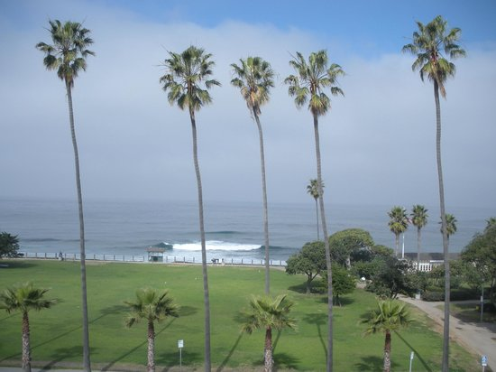 La Jolla Cove Suites:                   View