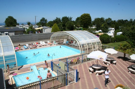 Camping Bellevue : Piscine couverte