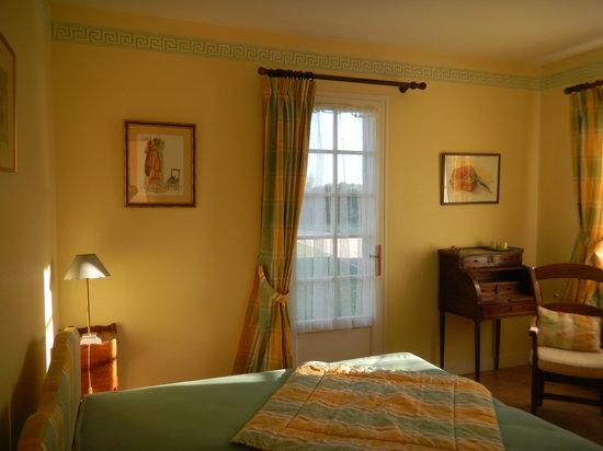 Manegat Chambres d'Hôtes : Chambre verte