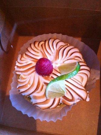 Marigold Cafe & Bakery : Lime tart