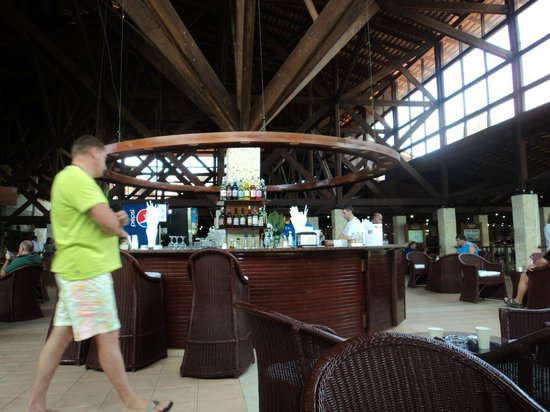 Natura Park Beach - EcoResort & Spa :                   A bar on main level