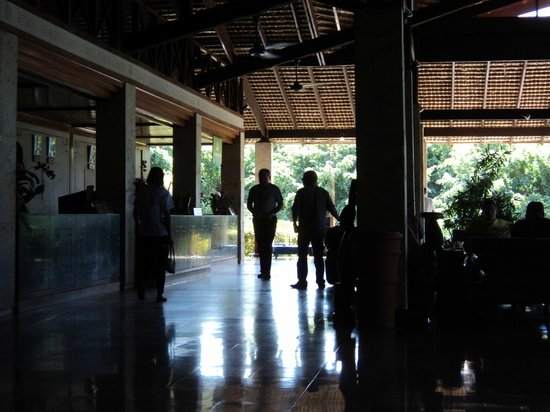 Natura Park Beach - EcoResort & Spa:                   Lobby of Resort