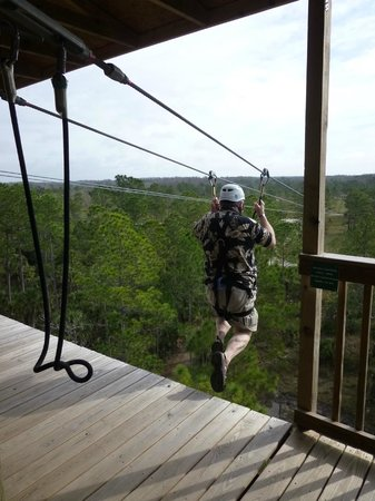 Forever Florida: Zipline - Racing