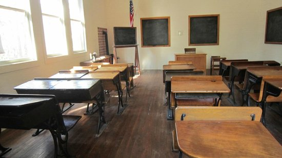 Pinellas County Heritage Village: old schoolhouse