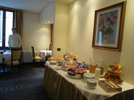 Ca' San Giorgio:                   colazione