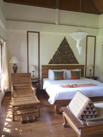 Royal Lanta Resort and Spa:                   Zimmeransicht des Bungalows
