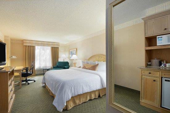 Hilton Garden Inn Atlanta North / Johns Creek: Standard King room- all rooms have mini-fridge and microwave