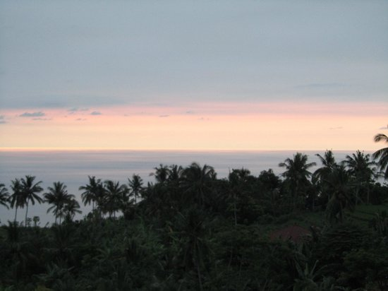 The Hamsa Bali Resort:                   View over Balisea