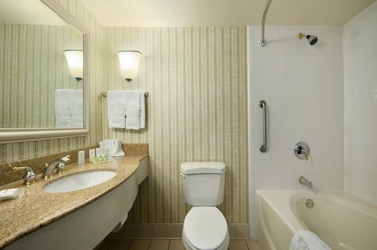 Hilton Garden Inn Atlanta North / Johns Creek: All bathrooms have garden tubs