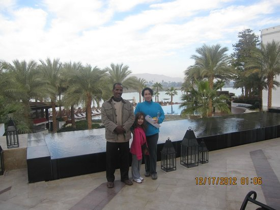 Hilton Luxor Resort & Spa:                                     with Mohamed