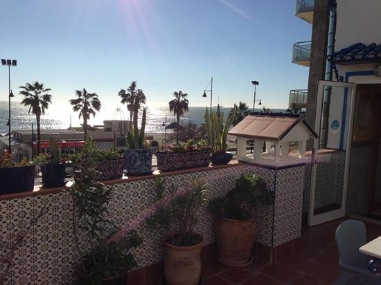 Hostal Guadalupe:                   view from the terrace