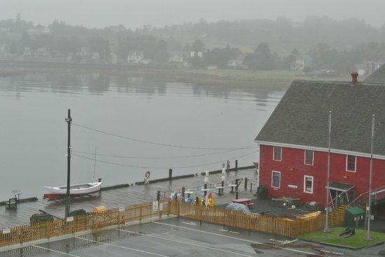 The Dockside Inn & Restaurant :                   The view