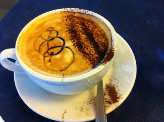 Hotel Da Vinci: Capuccino I am craving for!
