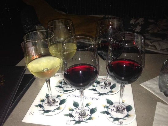 A Taste for Wine : Wine flight