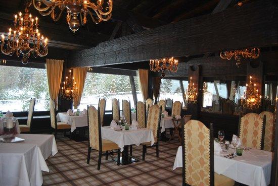 Hotel Kaysers Tirolresort:                   sala pranzo