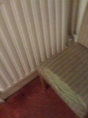 Royal Norfolk Hotel: Chair. Not very 2*