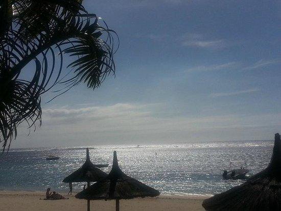 Villas Caroline:                   plage