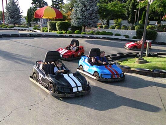 Family Fun Center & Bullwinkle's Restaurant: Go Karts