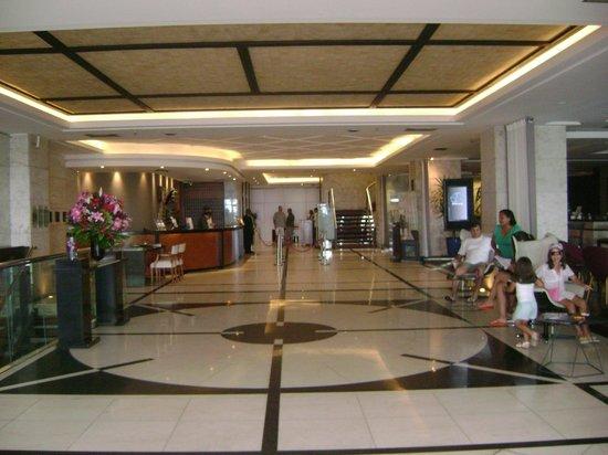 Pestana Rio Atlantica Hotel:                   A entrada do hotel