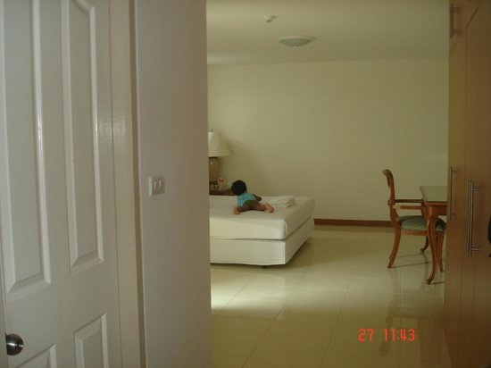 The Plim Place:                                     Bedroom, view from drawing room