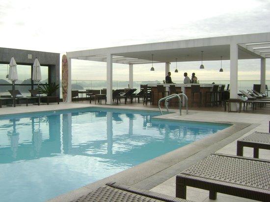 Pestana Rio Atlantica Hotel:                   Parte da Piscina