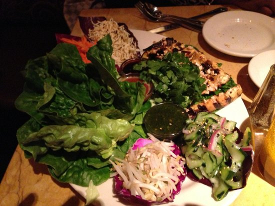 The Cheesecake Factory:                                     Thai Lettuce Wraps
