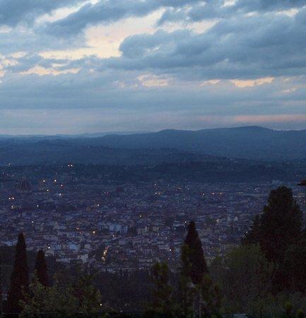 Vista dalla terrazza! - Picture of Terrazza 45, Fiesole - TripAdvisor
