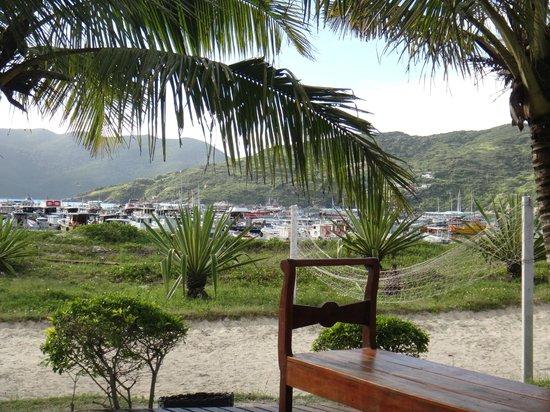 Capitao n'Areia Pousada:                   Vista desde el desayuno