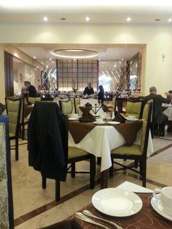 Crowne Plaza Hotel de Mexico: Comdedor