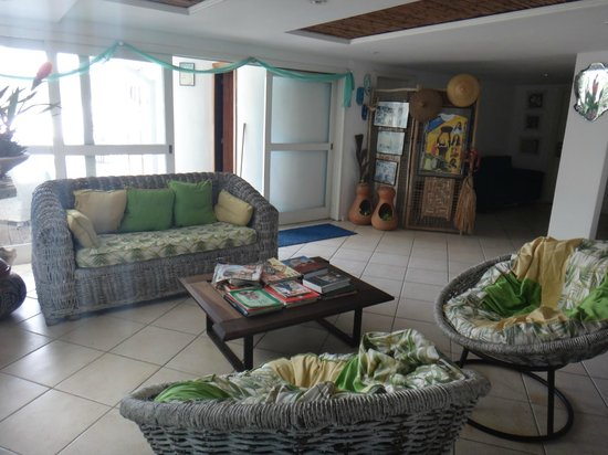 Capitao n'Areia Pousada:                   Sala de estar