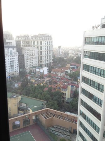 Somerset Grand Hanoi: view from masters bedroom