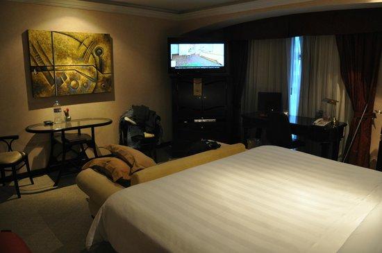 Crowne Plaza Hotel de Mexico: Habitacion