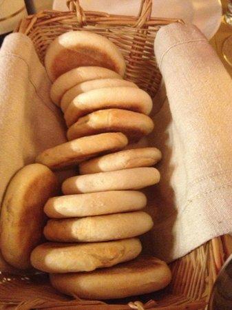 Enoteca la Zaira:                   Traditional italian bread for the starter