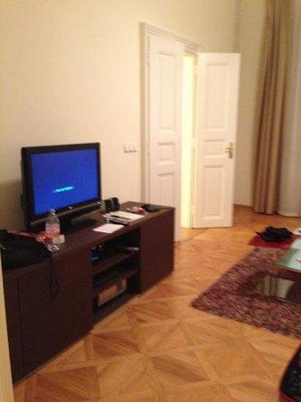 Prague City Apartments Residence Karolina: TV