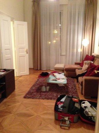 Prague City Apartments Residence Karolina: sitting room