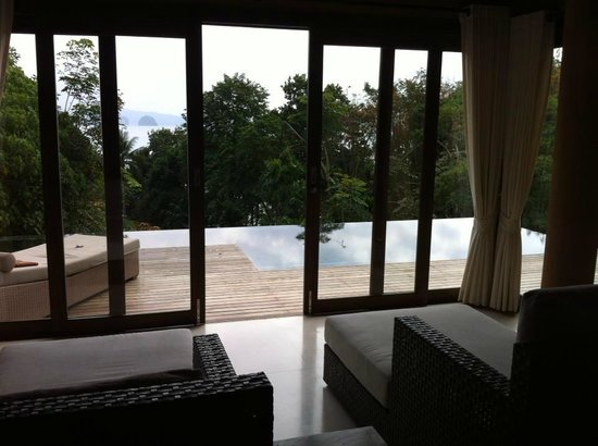 Koyao Island Resort:                   one of the leaving rooms